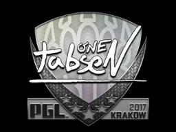 Sticker | tabseN | Krakow 2017