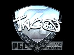 Sticker | TACO (Foil) | Krakow 2017