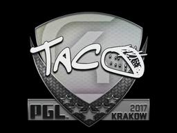 Sticker | TACO | Krakow 2017