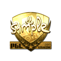 s1mple (Gold) | Krakow 2017