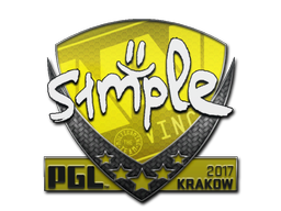 Sticker | s1mple | Krakow 2017