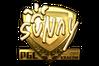 Sticker | suNny (Gold) | Krakow 2017