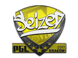 Sticker | seized | Krakow 2017
