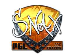 Sticker | Snax (Foil) | Krakow 2017