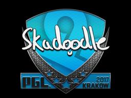 Sticker | Skadoodle | Krakow 2017