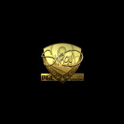 Sticker | shroud (Gold) | Krakow 2017