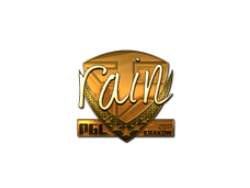 Skin Sticker | rain (Gold) | Krakow 2017