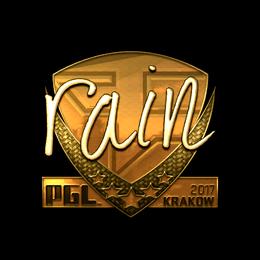 rain (Gold) | Krakow 2017