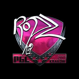 ropz (Foil) | Krakow 2017