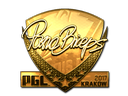 Sticker   pashaBiceps (Gold)   Krakow 2017