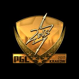 Zeus (Gold) | Krakow 2017