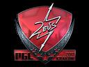 Sticker   Zeus (Foil)   Krakow 2017