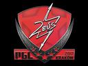 Sticker   Zeus   Krakow 2017