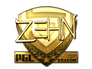 Skin Sticker | zehN (Gold) | Krakow 2017