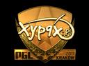 Sticker   Xyp9x (Gold)   Krakow 2017