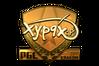 Sticker | Xyp9x (Gold) | Krakow 2017
