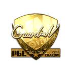 Sticker | GuardiaN (Gold) | Krakow 2017