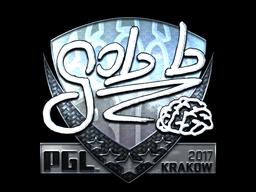 Sticker | gob b (Foil) | Krakow 2017