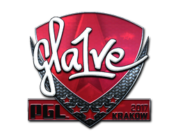 Sticker | gla1ve (Foil) | Krakow 2017
