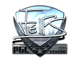 Sticker | felps (Foil) | Krakow 2017