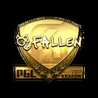 Sticker | FalleN (Gold) | Krakow 2017