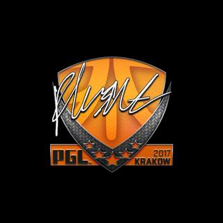 Sticker   flusha   Krakow 2017
