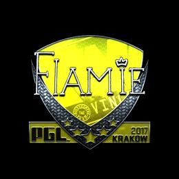 flamie (Foil) | Krakow 2017