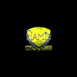 Sticker   flamie (Foil)   Krakow 2017