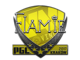 Sticker | flamie | Krakow 2017
