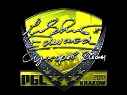 Sticker   Edward (Foil)   Krakow 2017