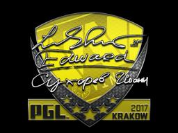 Sticker   Edward   Krakow 2017