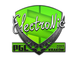 Sticker | electronic | Krakow 2017