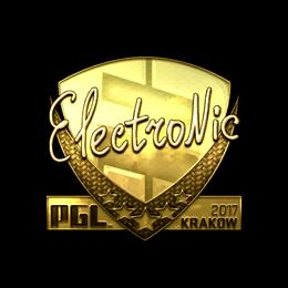 electronic (Gold) | Krakow 2017