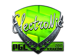 Sticker | electronic (Foil) | Krakow 2017
