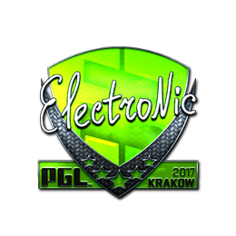 electronic (Foil) | Krakow 2017