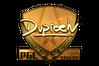 Sticker | dupreeh (Gold) | Krakow 2017