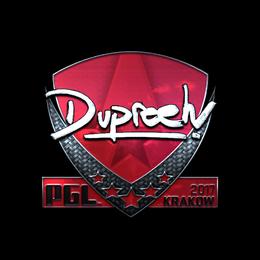 dupreeh (Foil) | Krakow 2017