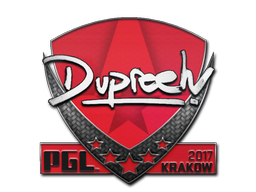 Sticker | dupreeh | Krakow 2017