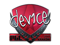 Sticker | device (Foil) | Krakow 2017