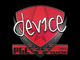 Наклейка | device | Краков 2017