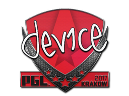Sticker | device | Krakow 2017