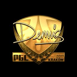 dennis (Gold) | Krakow 2017