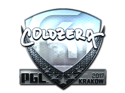 Sticker | coldzera (Foil) | Krakow 2017