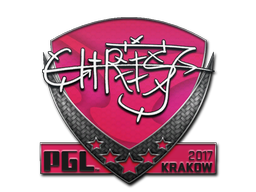 Sticker | chrisJ | Krakow 2017