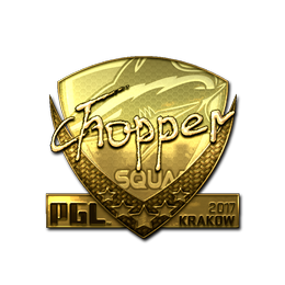 chopper (Gold) | Krakow 2017