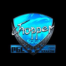 chopper (Foil) | Krakow 2017