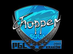 Sticker | chopper | Krakow 2017