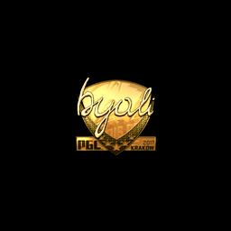 Sticker | byali (Gold) | Krakow 2017