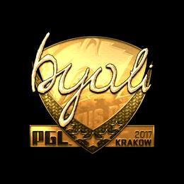 byali (Gold) | Krakow 2017