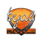 Sticker | byali | Krakow 2017